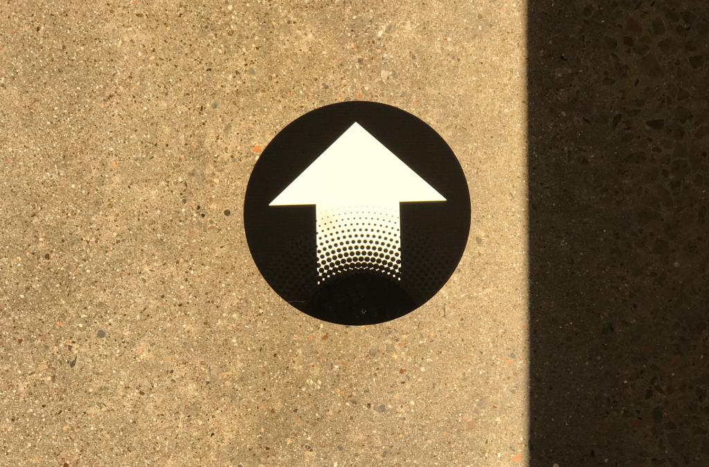 Floor Arrow Signage